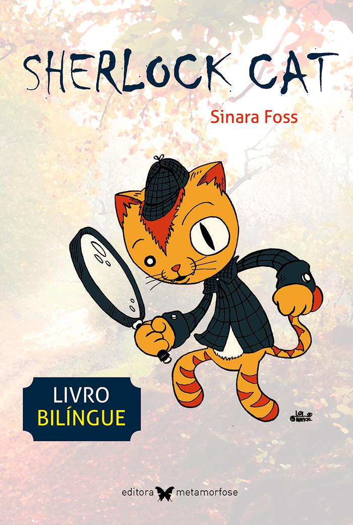 Sherlock Cat - livro bilíngue